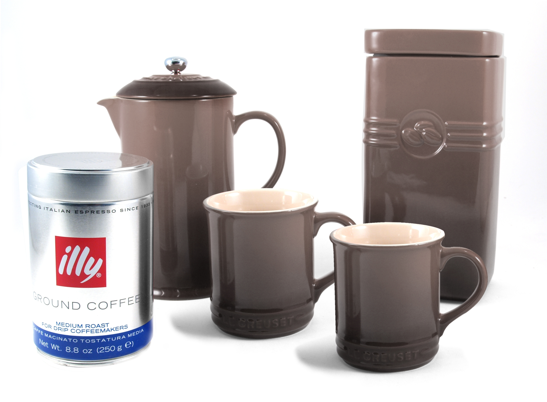 Le Creuset Truffle Stoneware Coffee Set