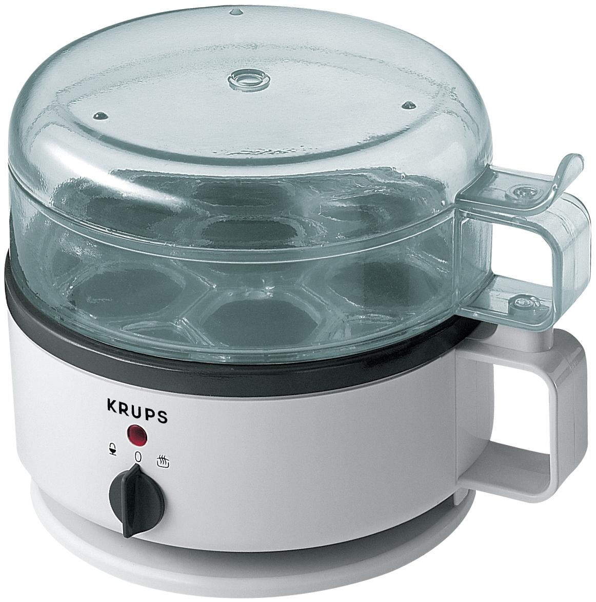 Krups White Egg Express Cooker