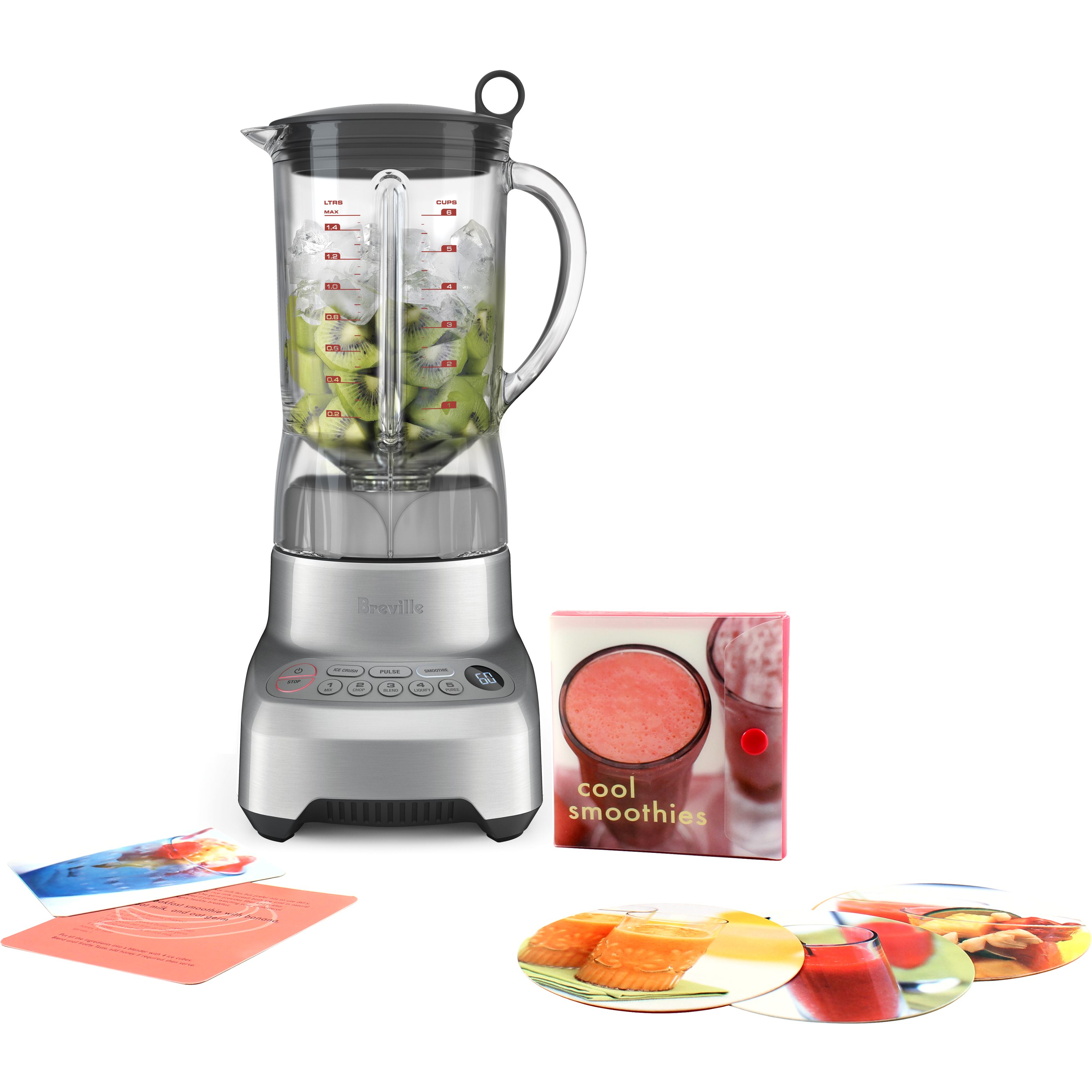 Breville Hemisphere Control Blender with Free Smoothie Recipe Book