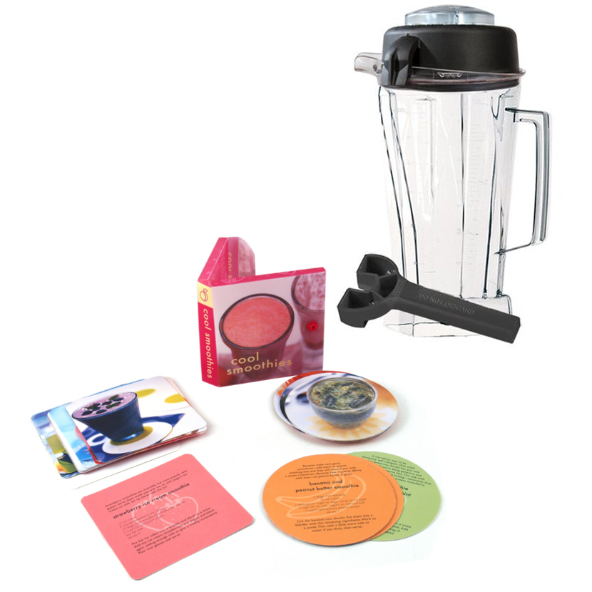 Vitamix Eastman Tritan 64 Ounce Blender Container with Free Smoothie Recipe Book