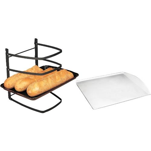 Linden Sweden Jonas Collapsible 4 Tier Cooling Rack with Aluminum Cookie Sheet, 13 x 14 Inch