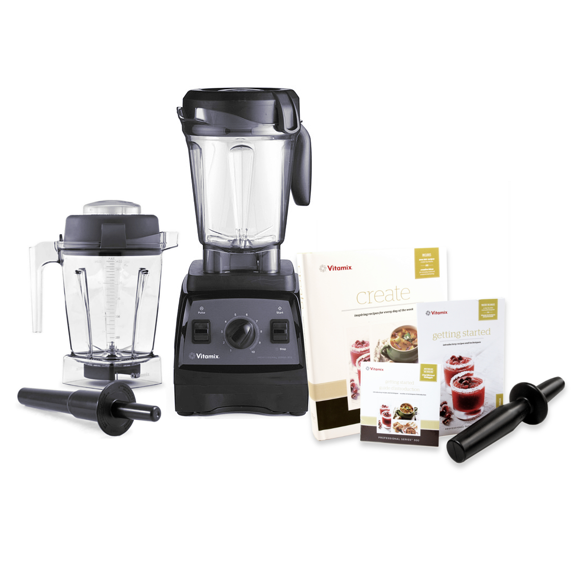 Vitamix CIA Professional Series 300 Onyx Blender With 64 Ounce Wet Container and 48 Ounce Wet Container