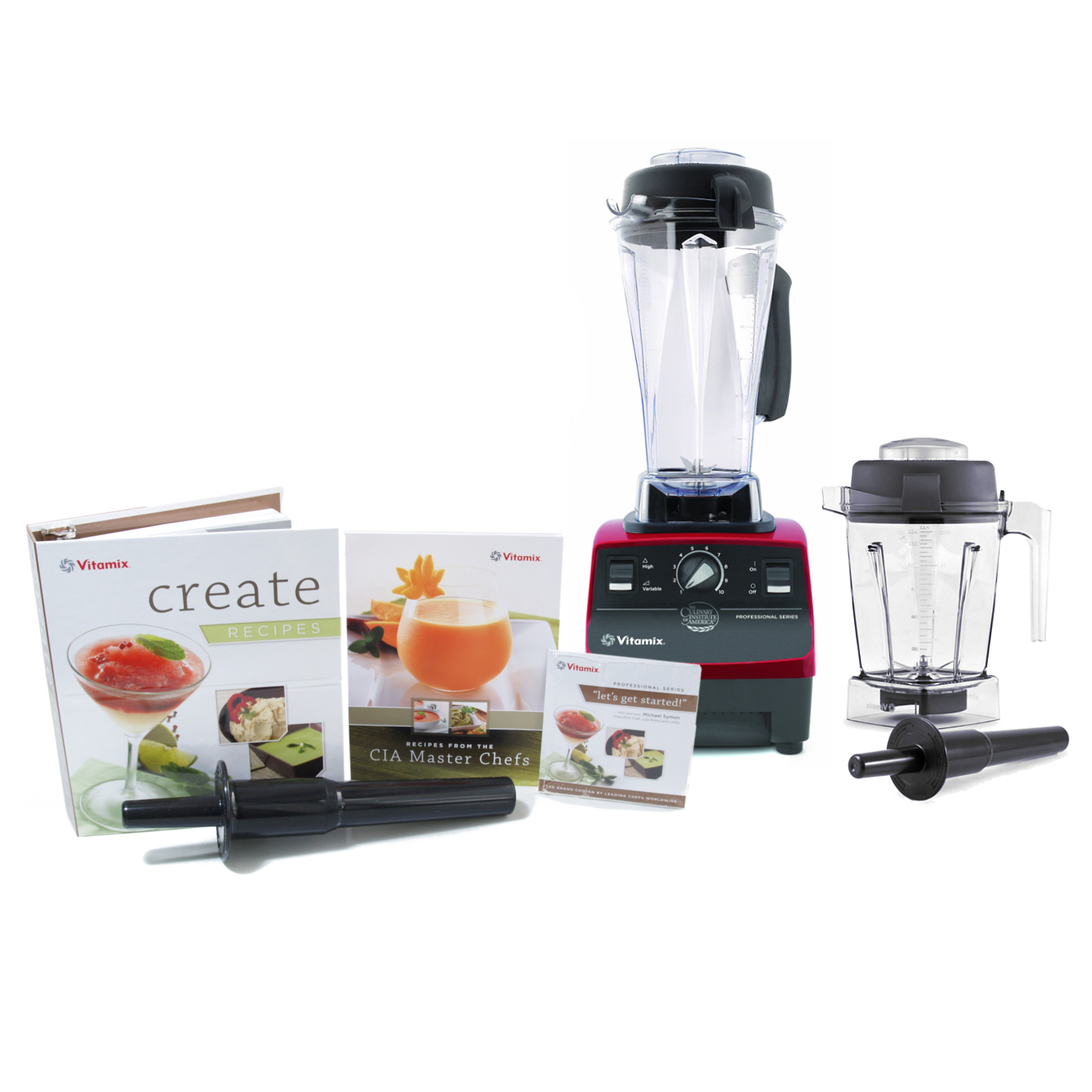Vitamix CIA Professional Series Ruby Blender With 64 Ounce Wet Container and 48 Ounce Wet Container