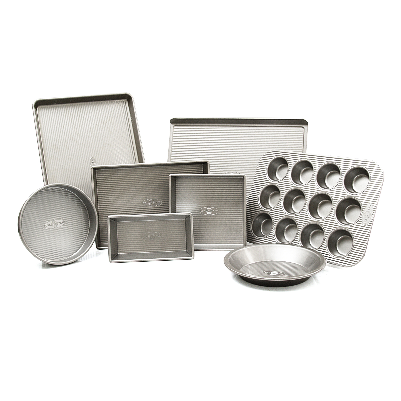 USA Pan 8 Piece Nonstick Baking Set