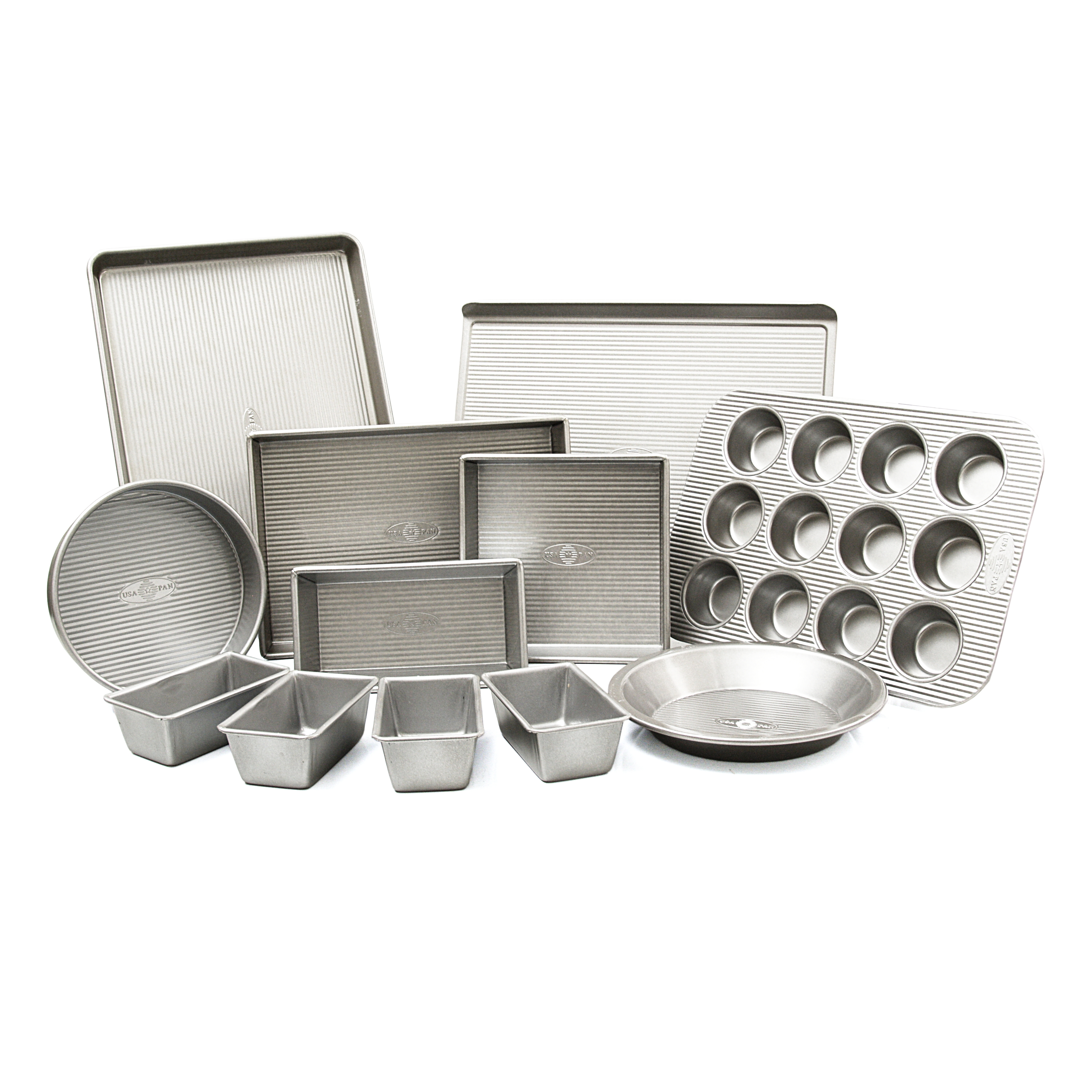 USA Pan 12 Piece Nonstick Baking Set