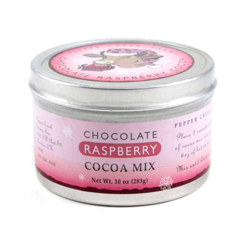 Pepper Creek Farms Chocolate Raspberry Cocoa Mix, 10 Ounce