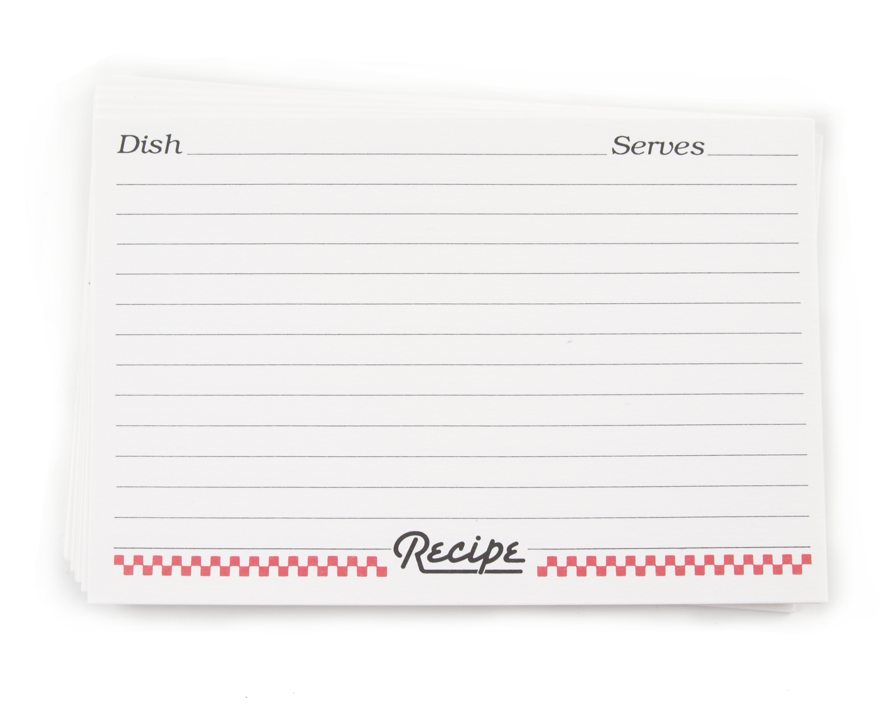 Weatherbee 3 x 5 Inch Recipe Cards, Set of 24