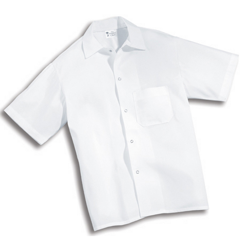 Chef's Professional White Culinary Shirt L