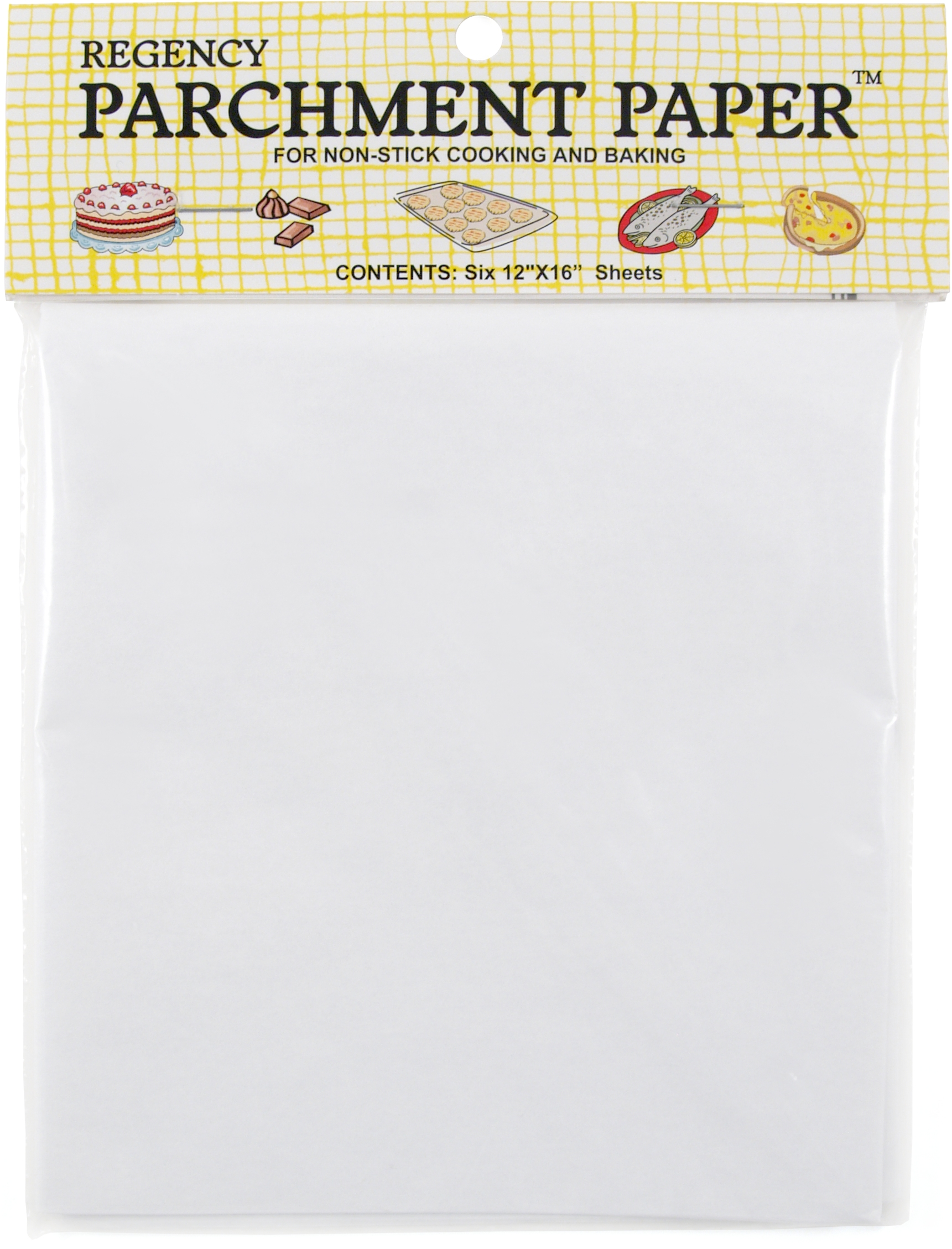 Regency Parchment Sheet, Set of 6