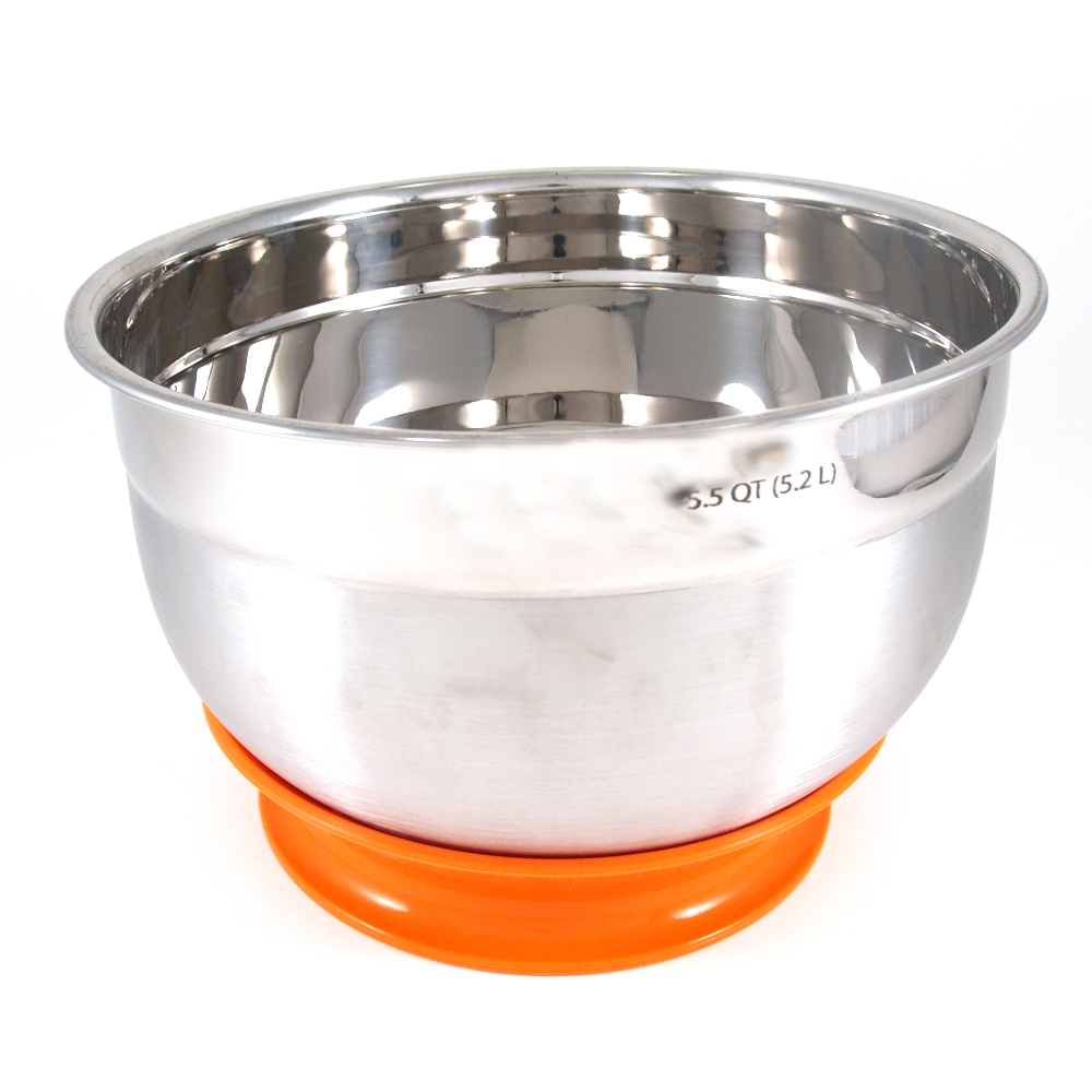 Staybowlizer Orange Silicone Bowl Stabilizer