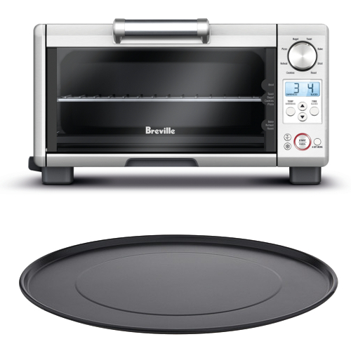 Breville BOV450XL Mini Smart Oven with 11 Inch Aluminum Nonstick Pizza Pan