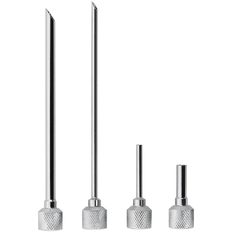 iSi Four Piece Gourmet Whip Stainless Steel Injector Tip Set
