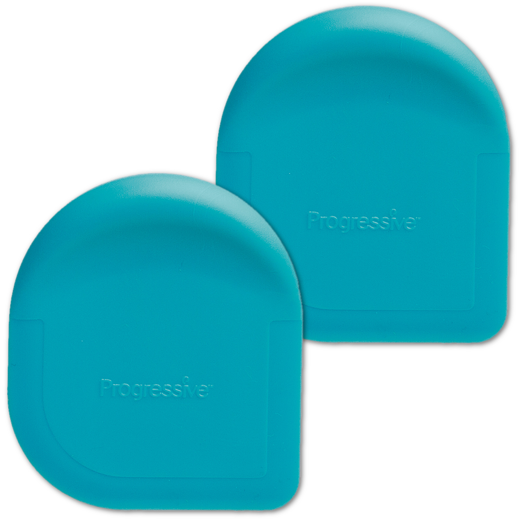 Progressive Blue Pan Scraper, Set of 2