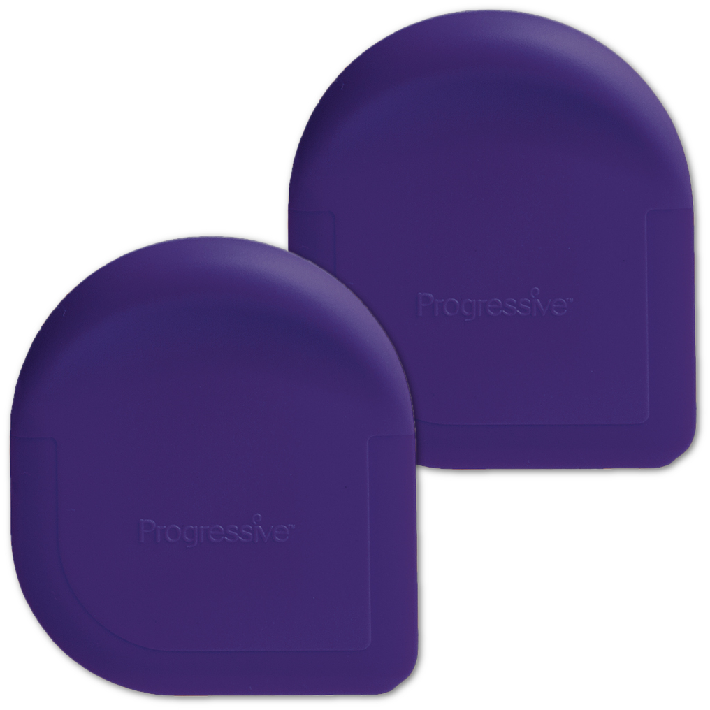 Progressive Purple Pan Scraper, Set of 2