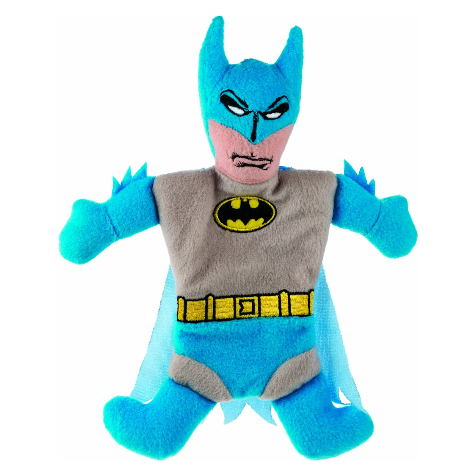 Fetch DC Comics Plush and Crinkle Batman Dog Toy, 11 inch