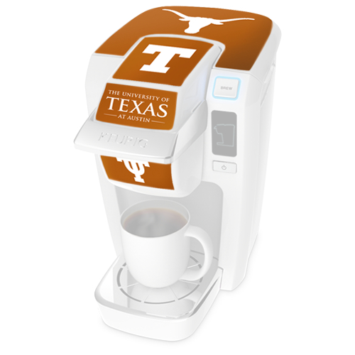 Keurig K10 Mini Plus Brewer University of Texas Decal Kit