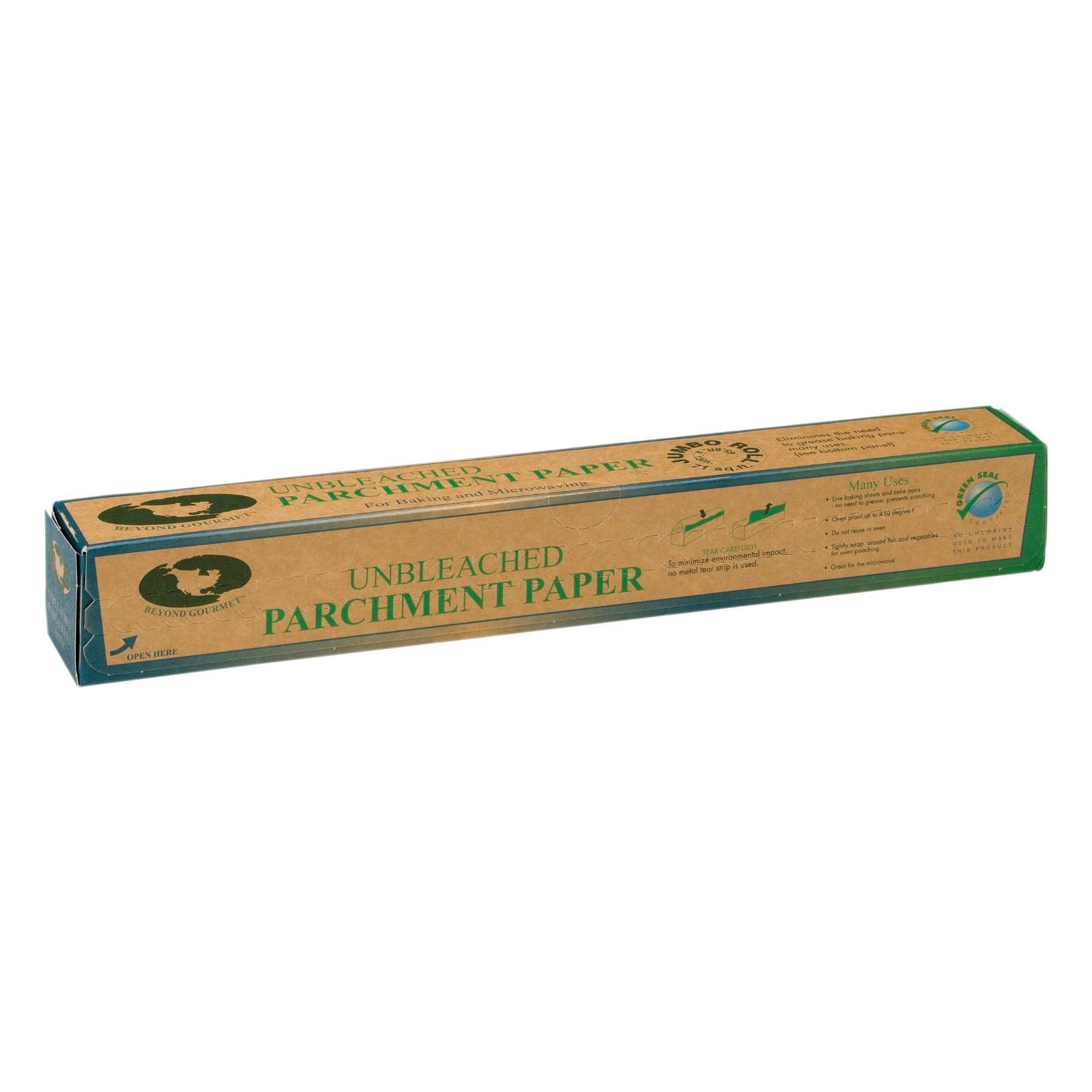 "Beyond Gourmet Unbleached Natural Parchment Paper, 13"" x 65' Roll"