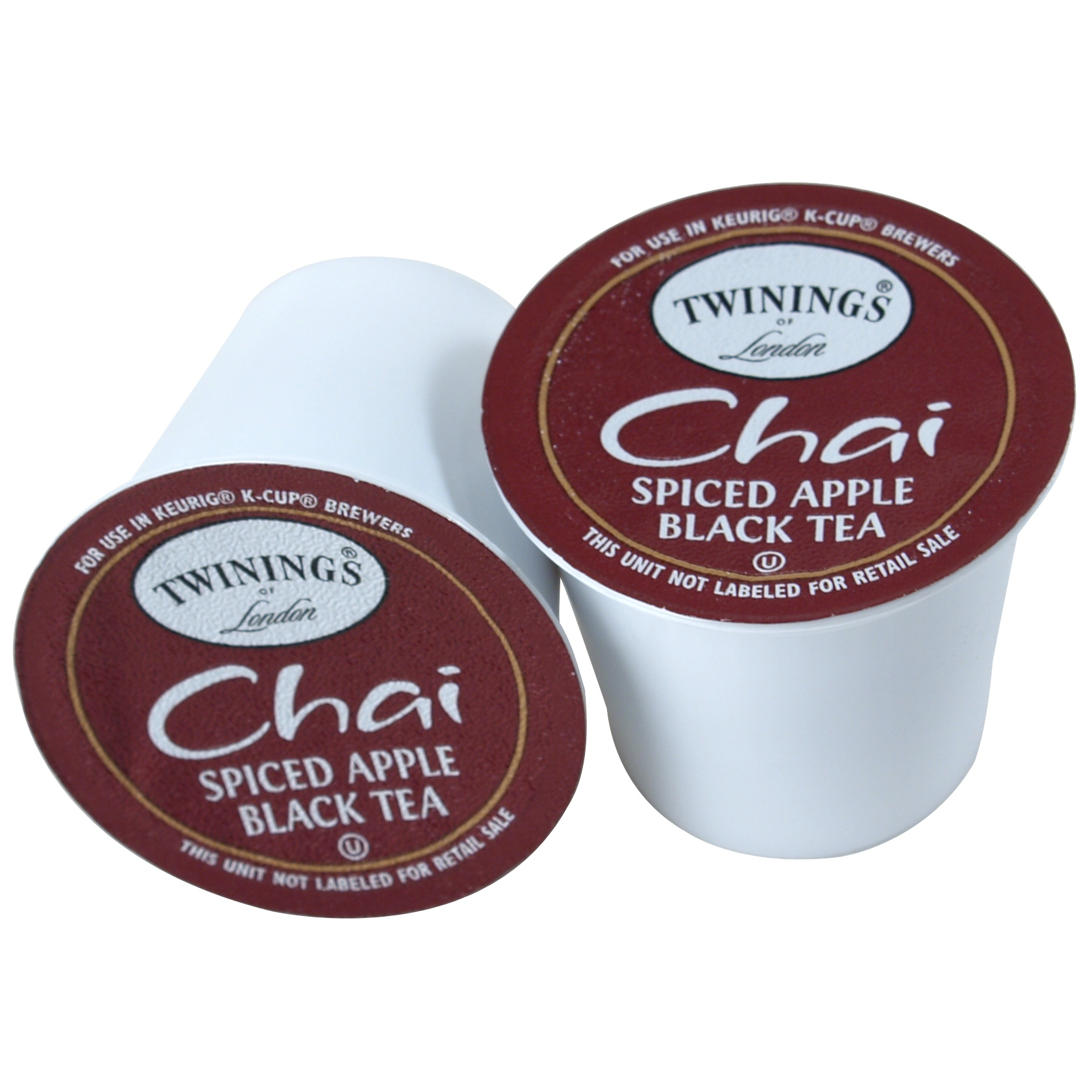 Twinings Spiced Apple Chai Tea Keurig K-Cups, 72 Count - Exceeded Best-By Date