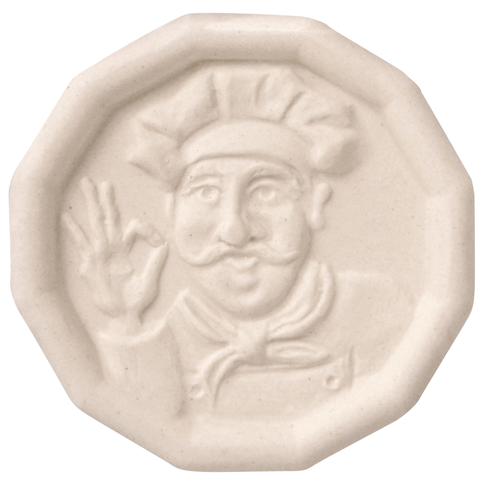 JBK The Pot Minder White Ceramic 2.25 Inch Disk