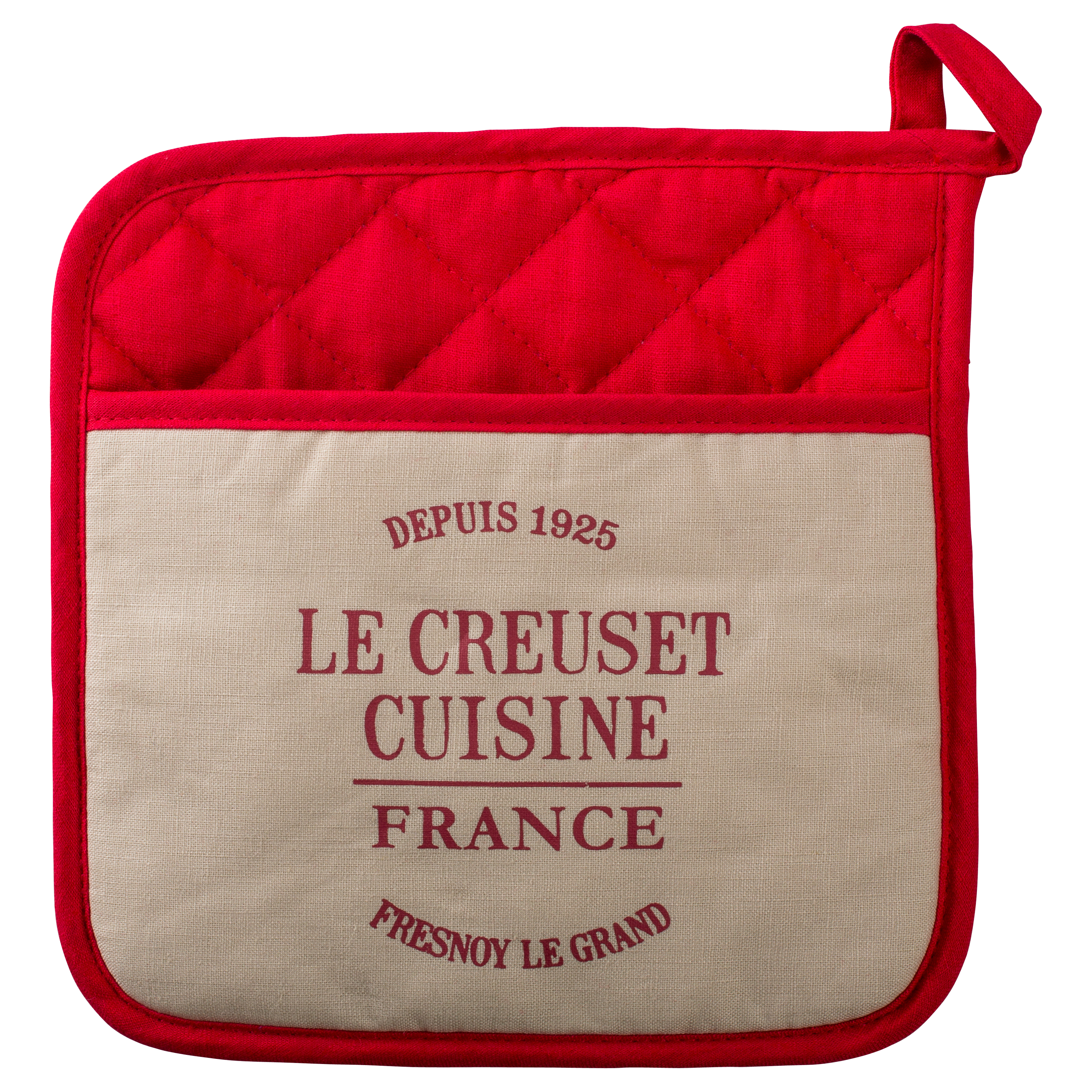 Le Creuset Heritage Cherry 9 x 9 Inch Pot Holder