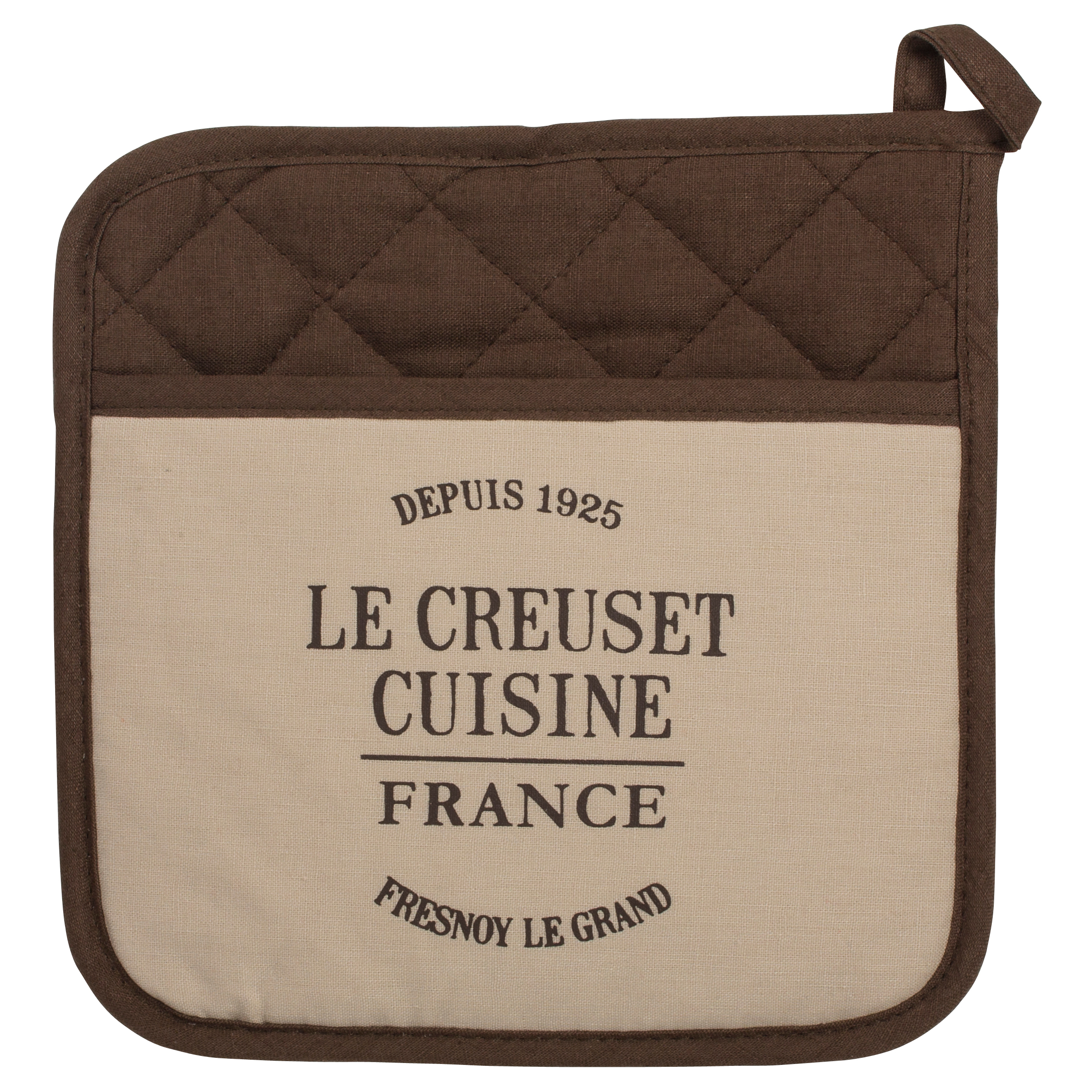 Le Creuset Heritage Truffle 9 x 9 Inch Pot Holder