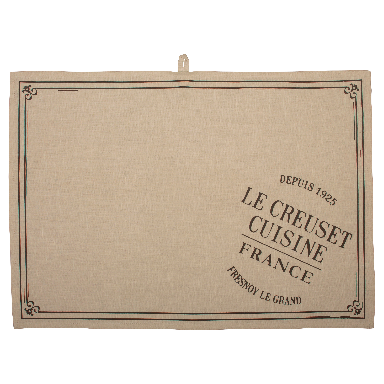 Heritage Tea Towel - Truffle