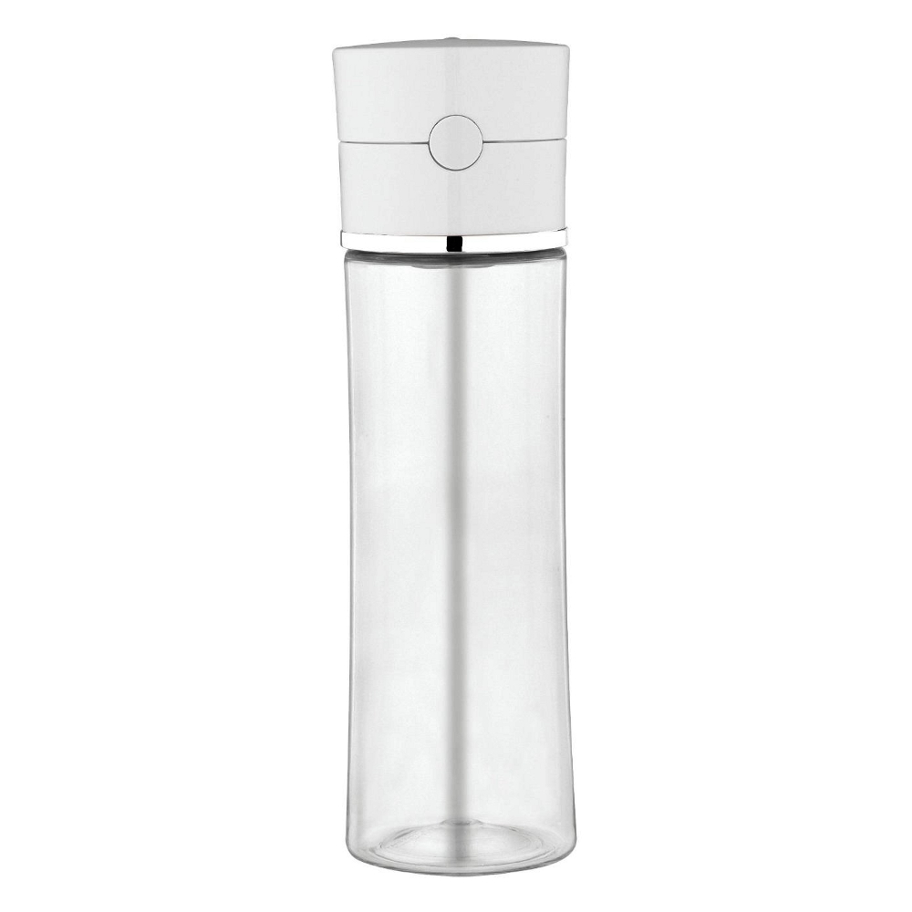 Thermos Sipp Clear Body Eastman Tritan 22 Ounce Hydration Bottle with White Lid