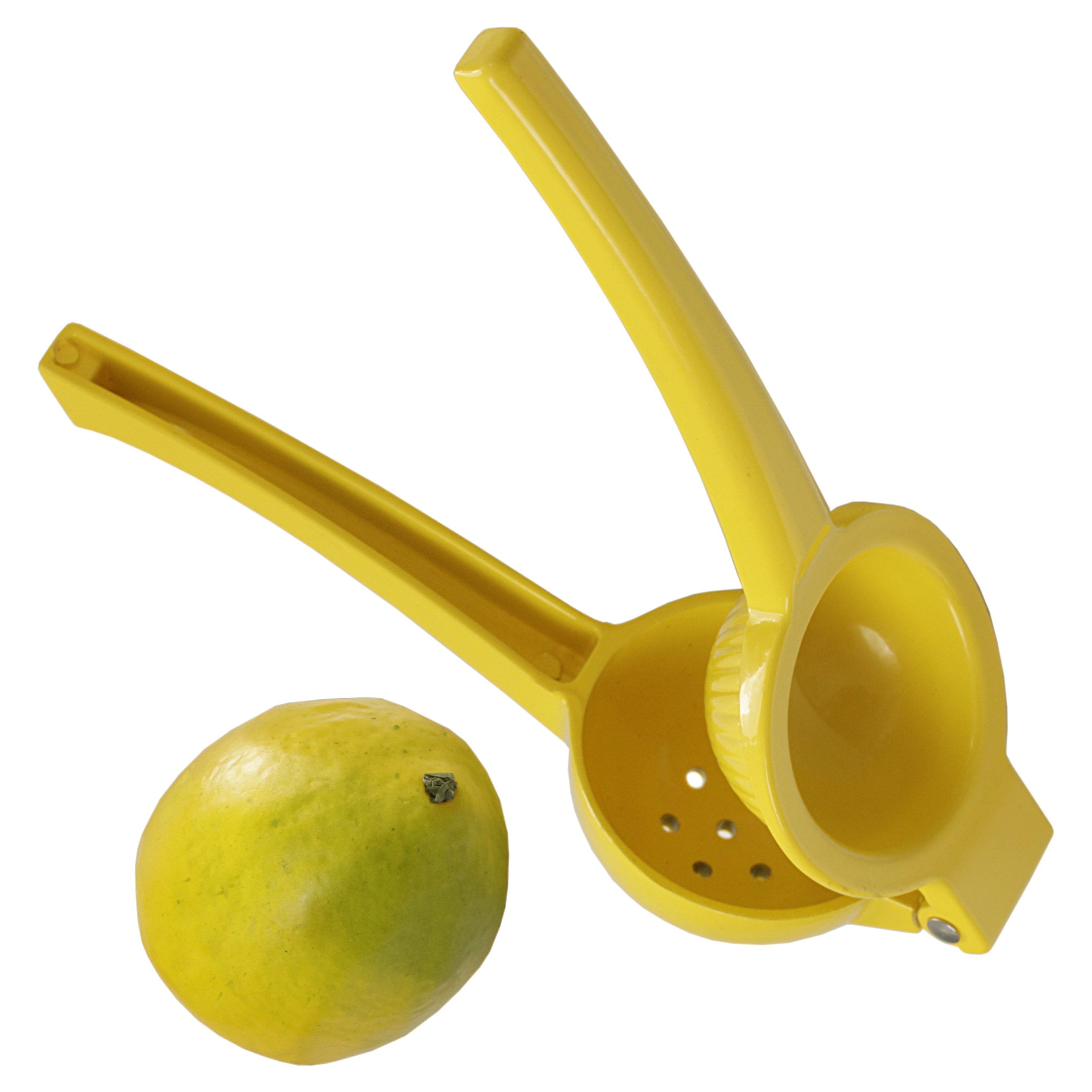 Prepworks from Progressive Lemon Yellow Enameled Metal Lemon and Lime Squeezer