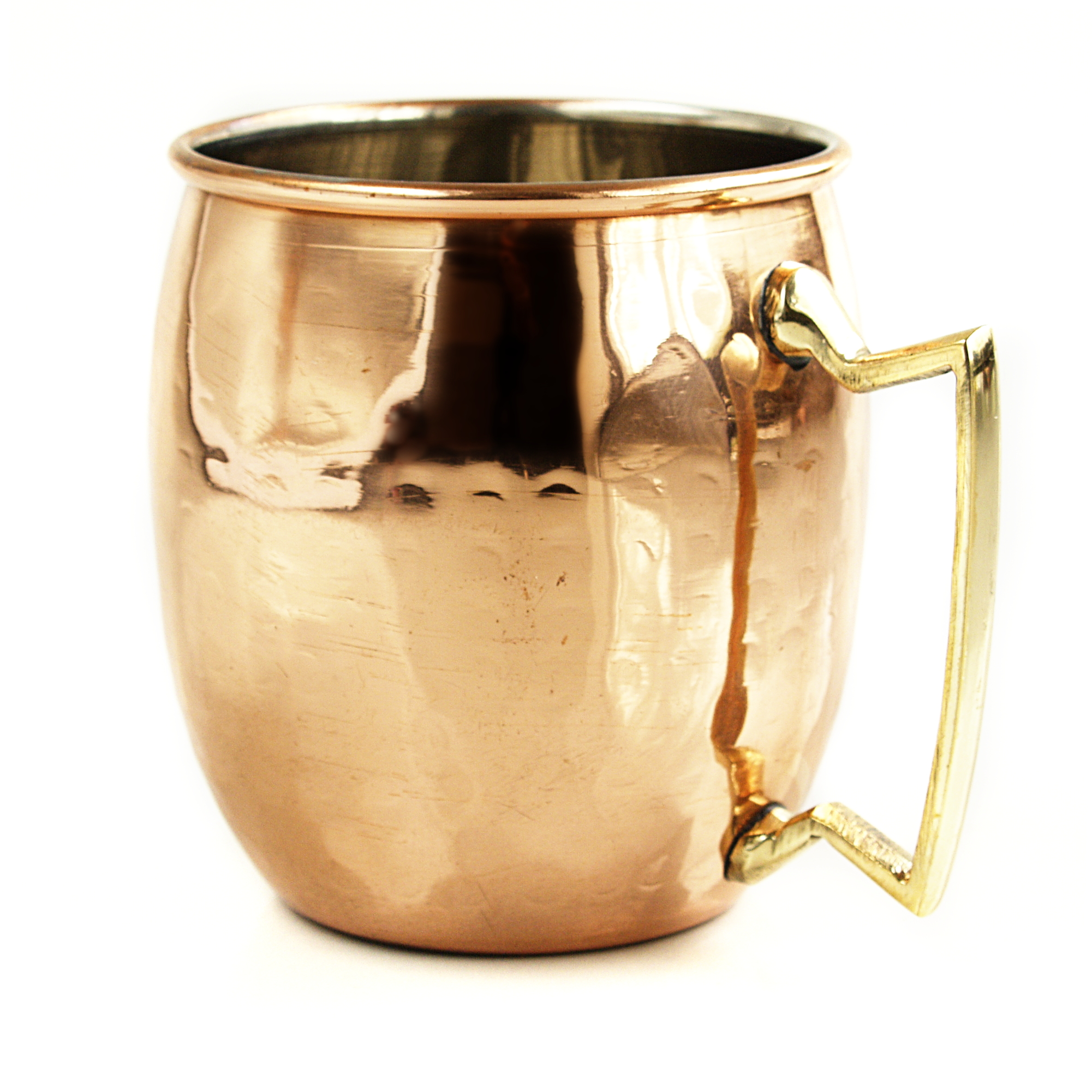Select Home Hammered Copper 16 Ounce Moscow Mule Drinking Mug