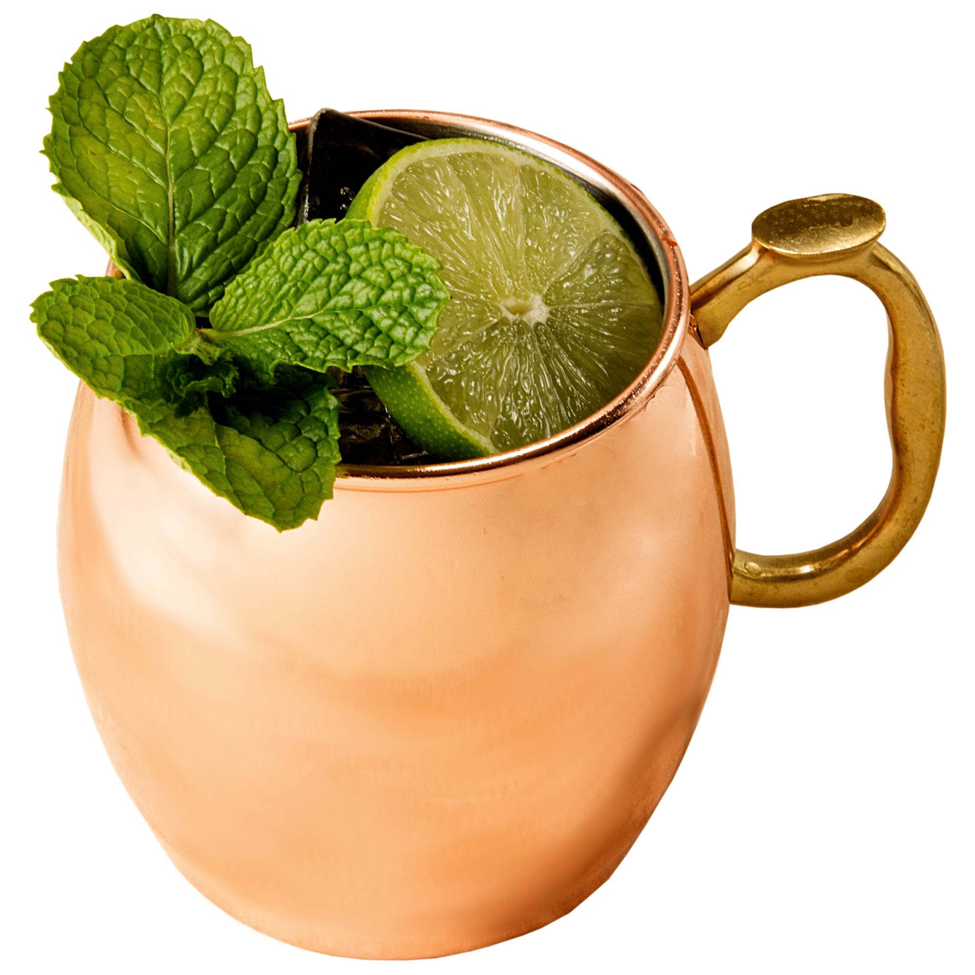 Select Home Copper-Plated Moscow Mule 16 Ounce Drinking Mug