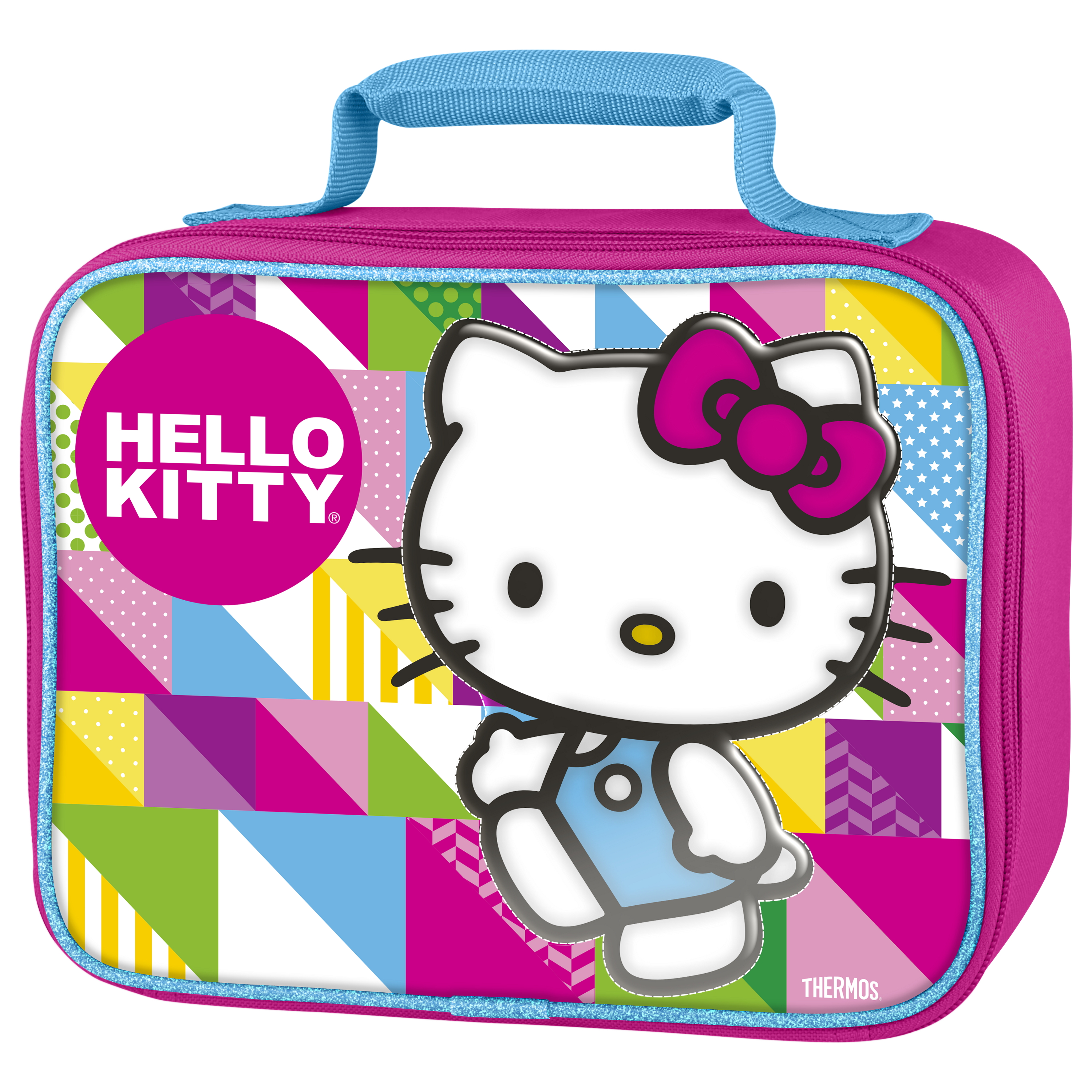 Thermos Hello Kitty TV Show 7.5 x 9.5 Inch Insulated Soft Lunch Bag