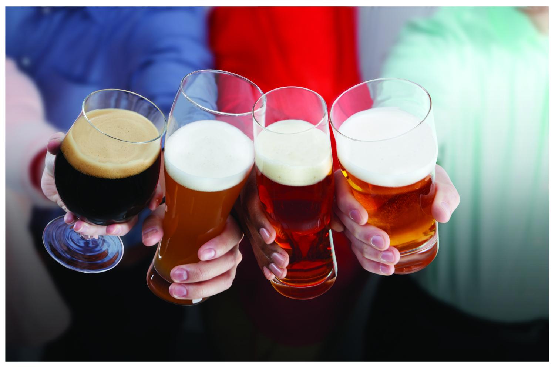 Lenox Tuscany Classics 4 Piece Assorted Wheat Beer Glass Set