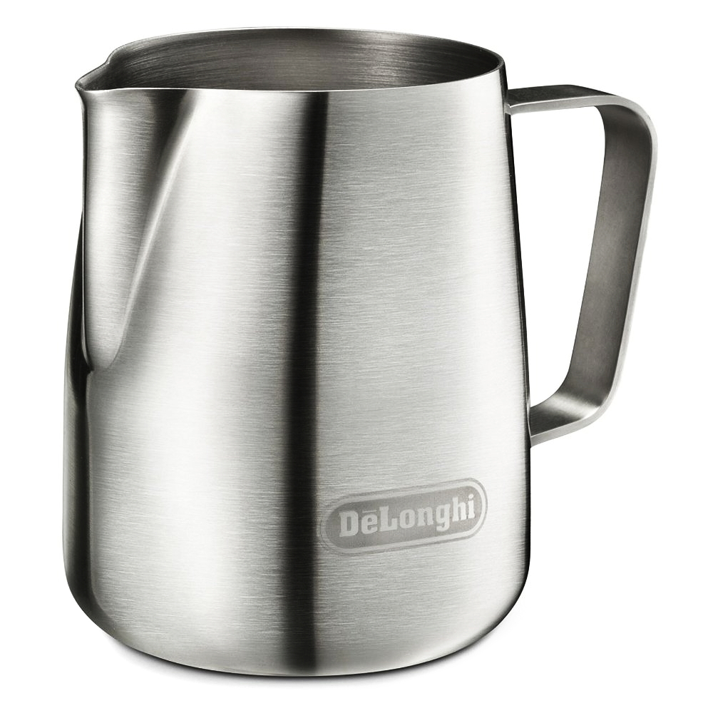 DeLonghi Brushed Stainless Steel 14 Ounce Milk Frothing Jug
