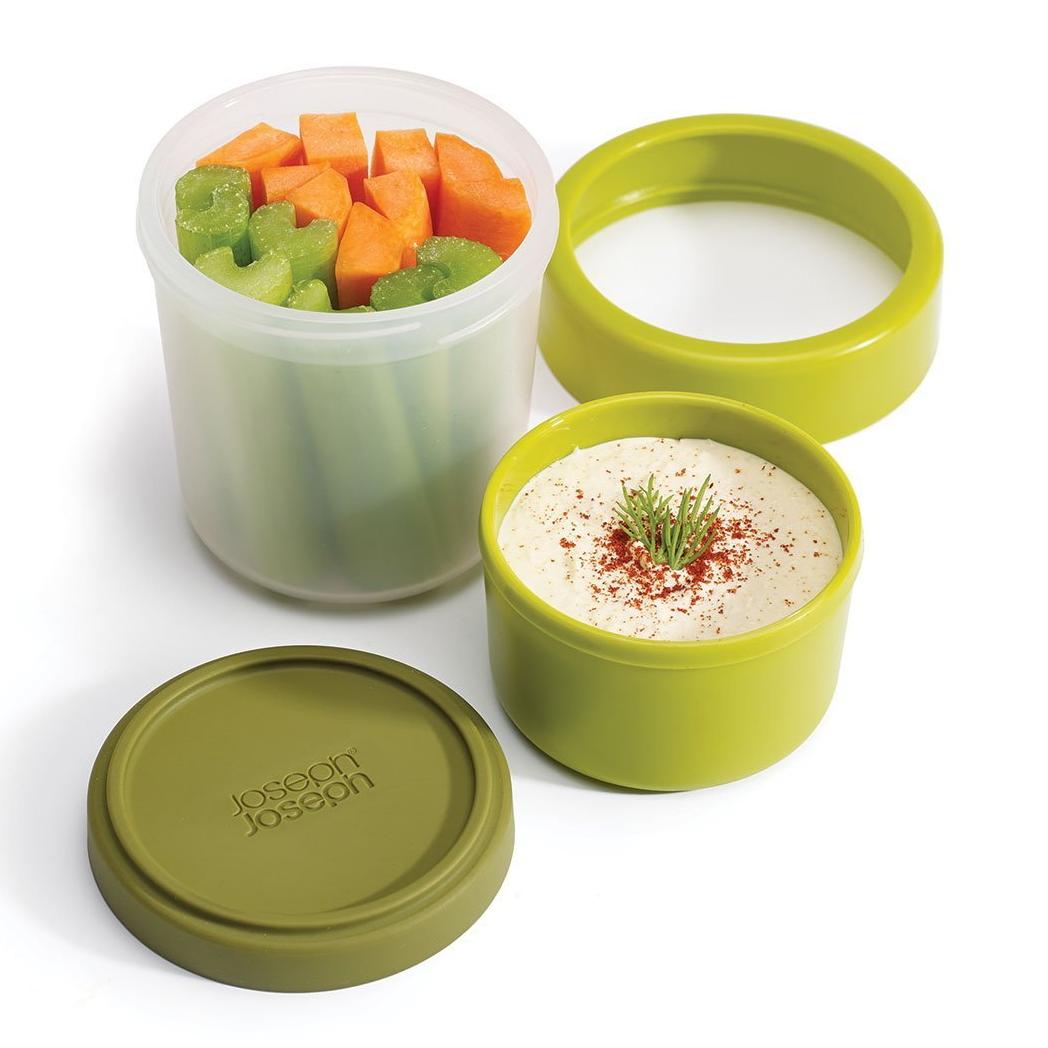 Go Eat Snack pot -  Green