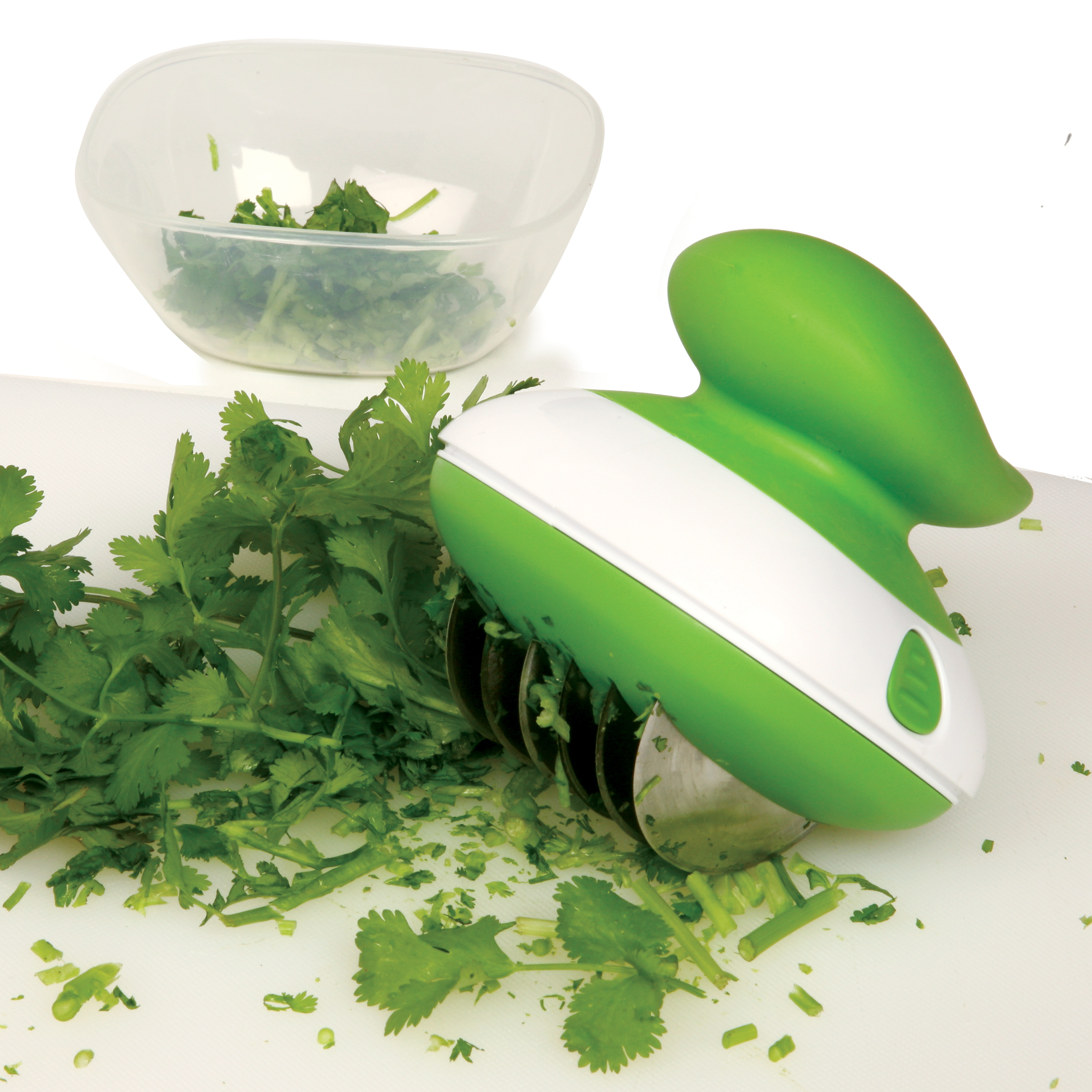 Norpro Green and White Herb Slicer