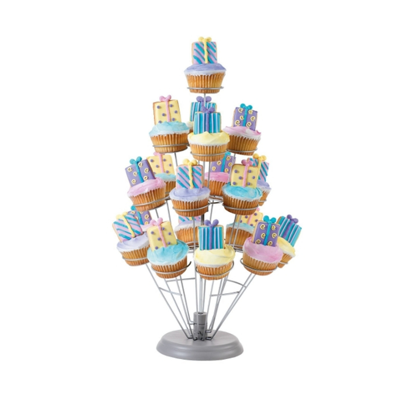 Wilton Cupcakes 'N More 19 Count Cupcake Stand