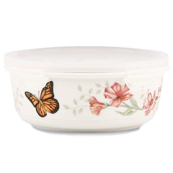 Lenox Butterfly Meadows Serve and Store 20 Ounce Container