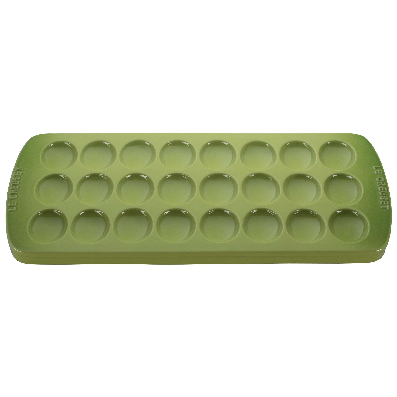 "Deviled Egg Platter - Palm 16 1/4"" x 8"" x 1"" Stoneware"