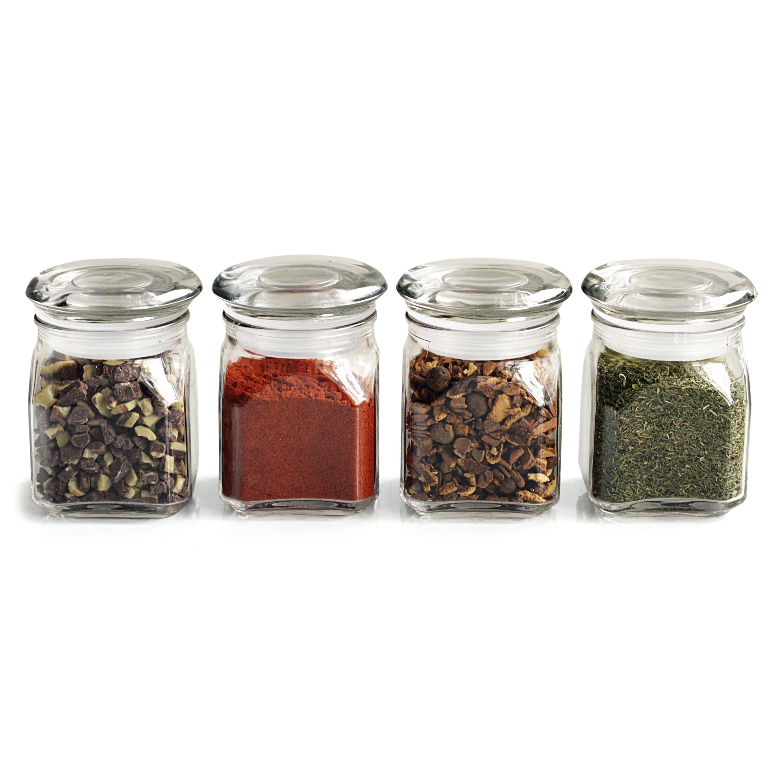 Anchor Hocking Emma 4 Ounce Mini Jar, Set of 4