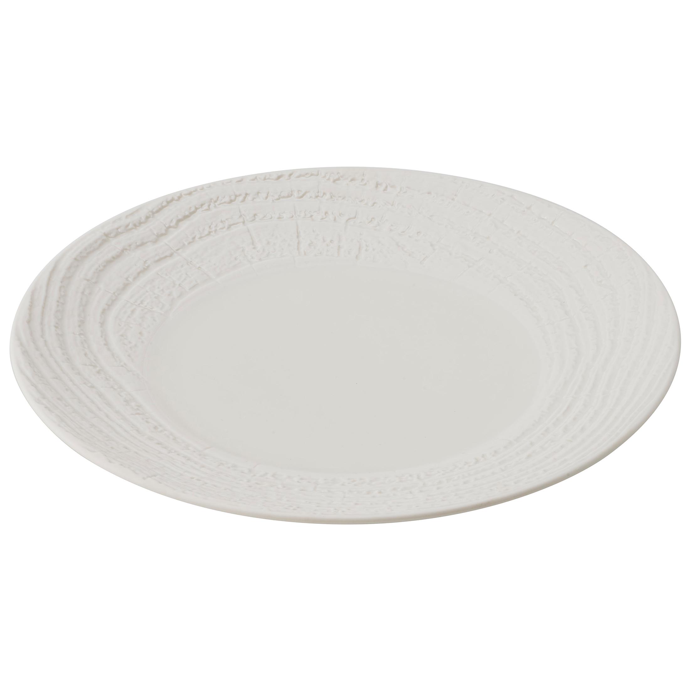 Revol Arborescence Ivory Porcelain 10.5 Inch Dinner Plate
