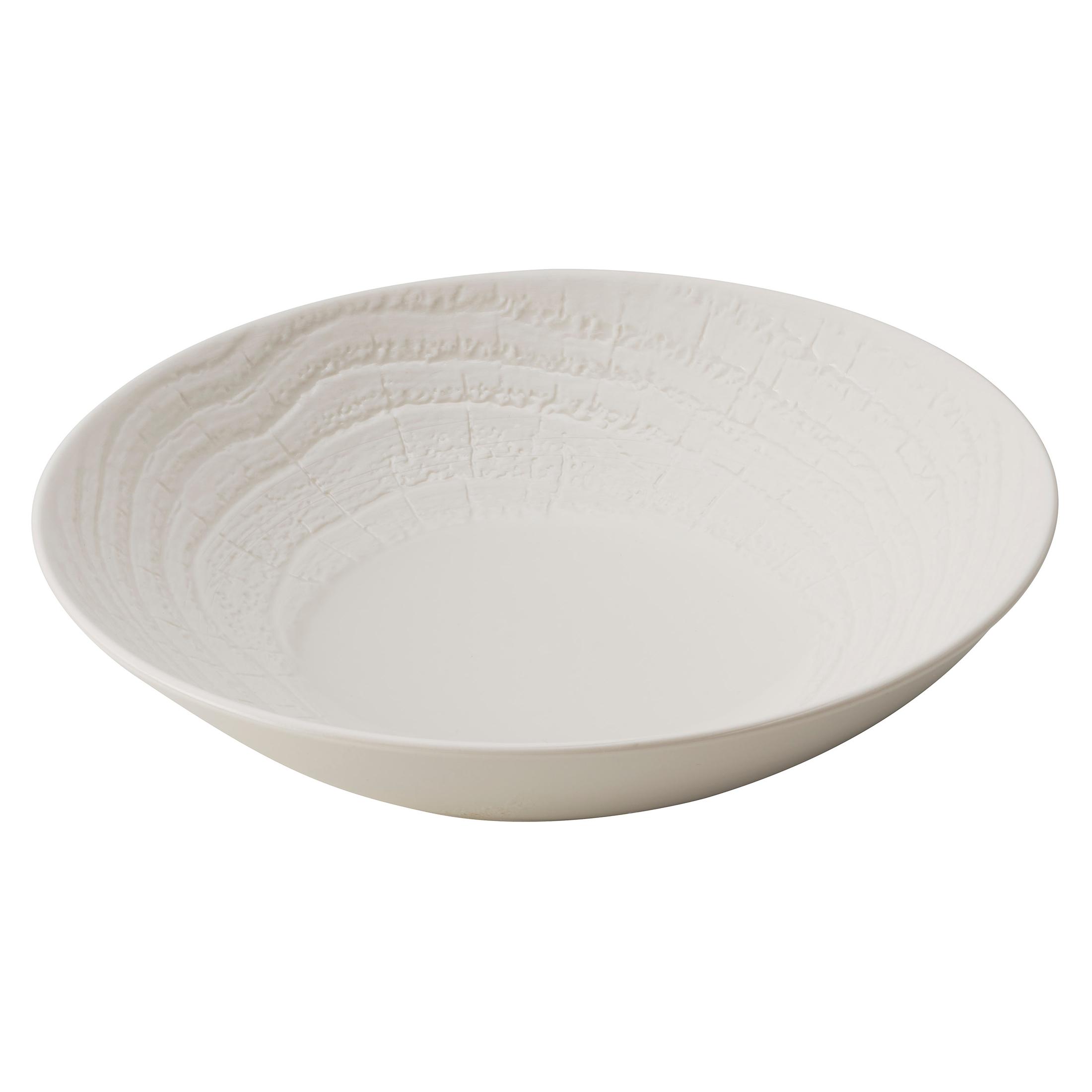 Revol Arborescence Ivory Porcelain 9.5 Inch Salad Bowl