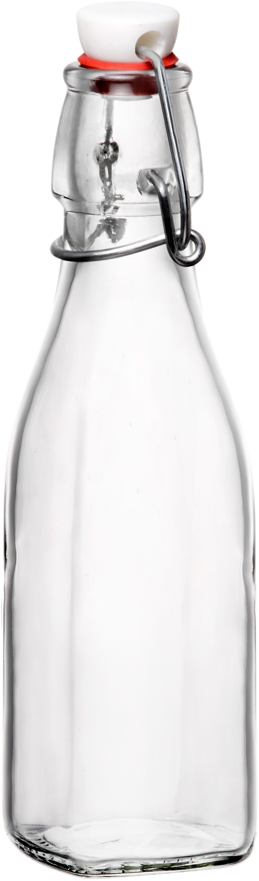 Bormioli Rocco Swing Top Glass Bottle, 8 Ounce