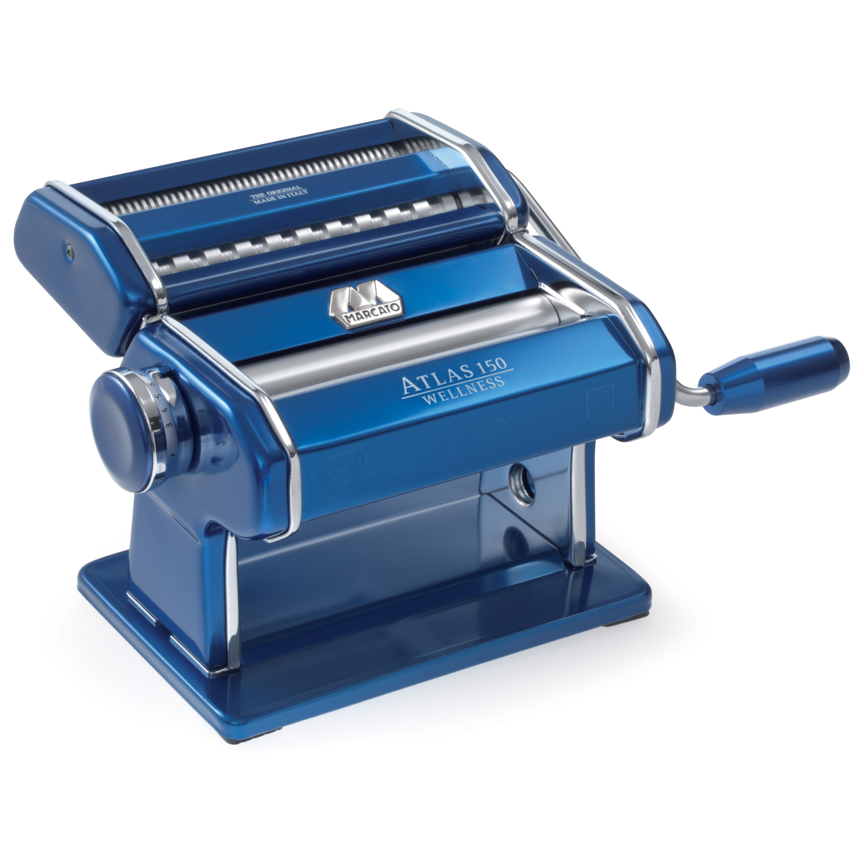 ATLAS 150 PASTA MACHINE BLUE
