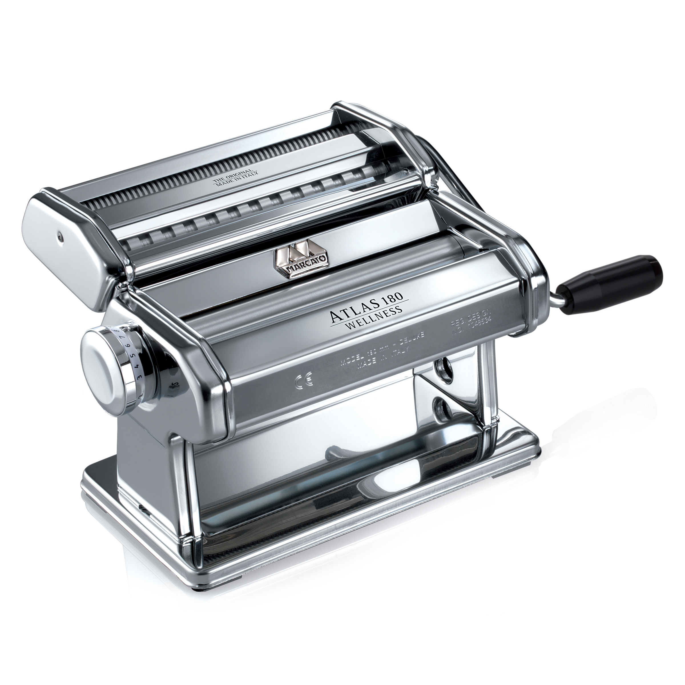 Atlas Marcato 180 Stainless Steel Pasta Maker Machine