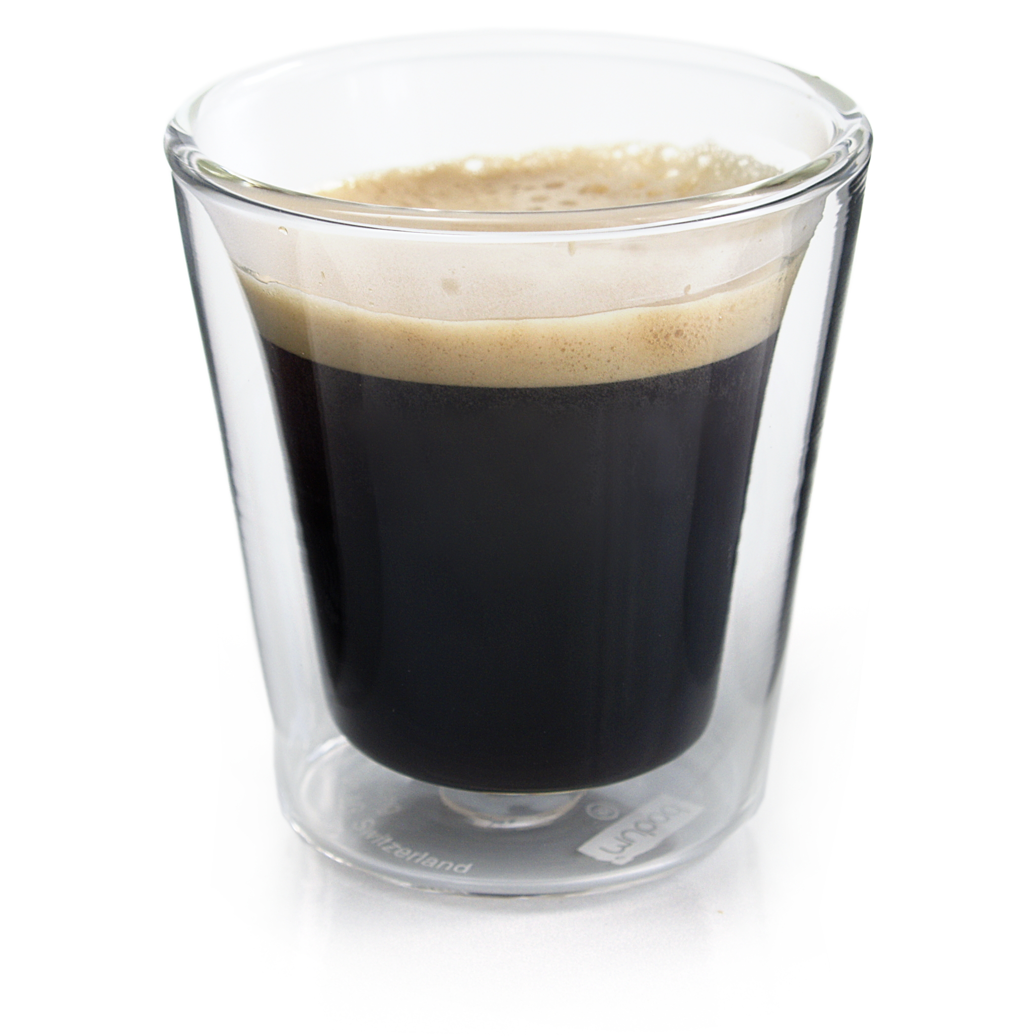 Bodum Canteen Double Wall 3 Ounce Espresso Glass, Set of 2