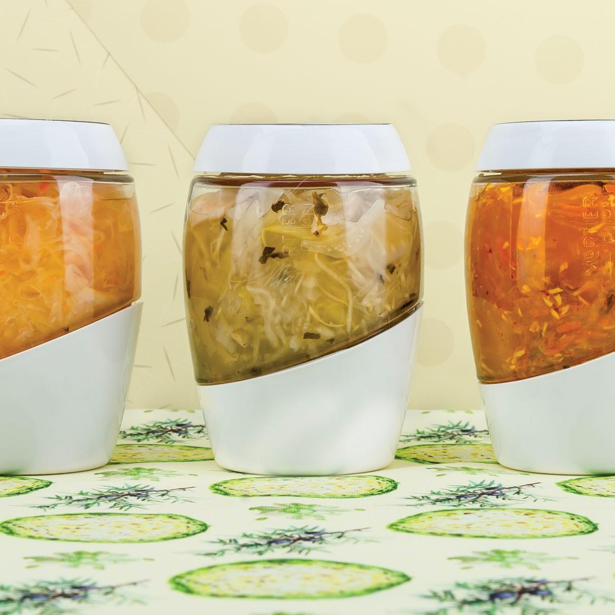 Mortier Pilon 2 Liter Kimchi Fermentation Crock