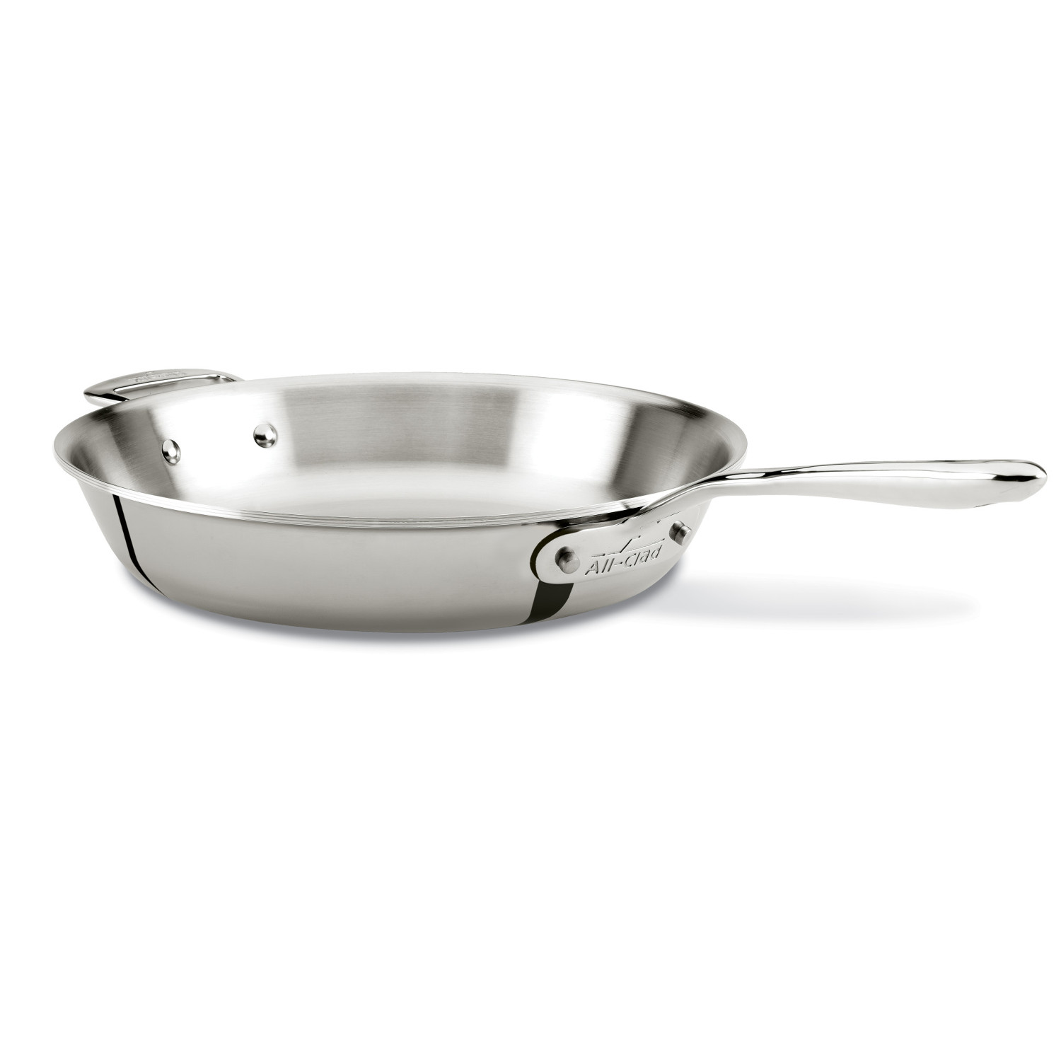 All Clad d7 Stainless Steel 12 Inch Fry Pan