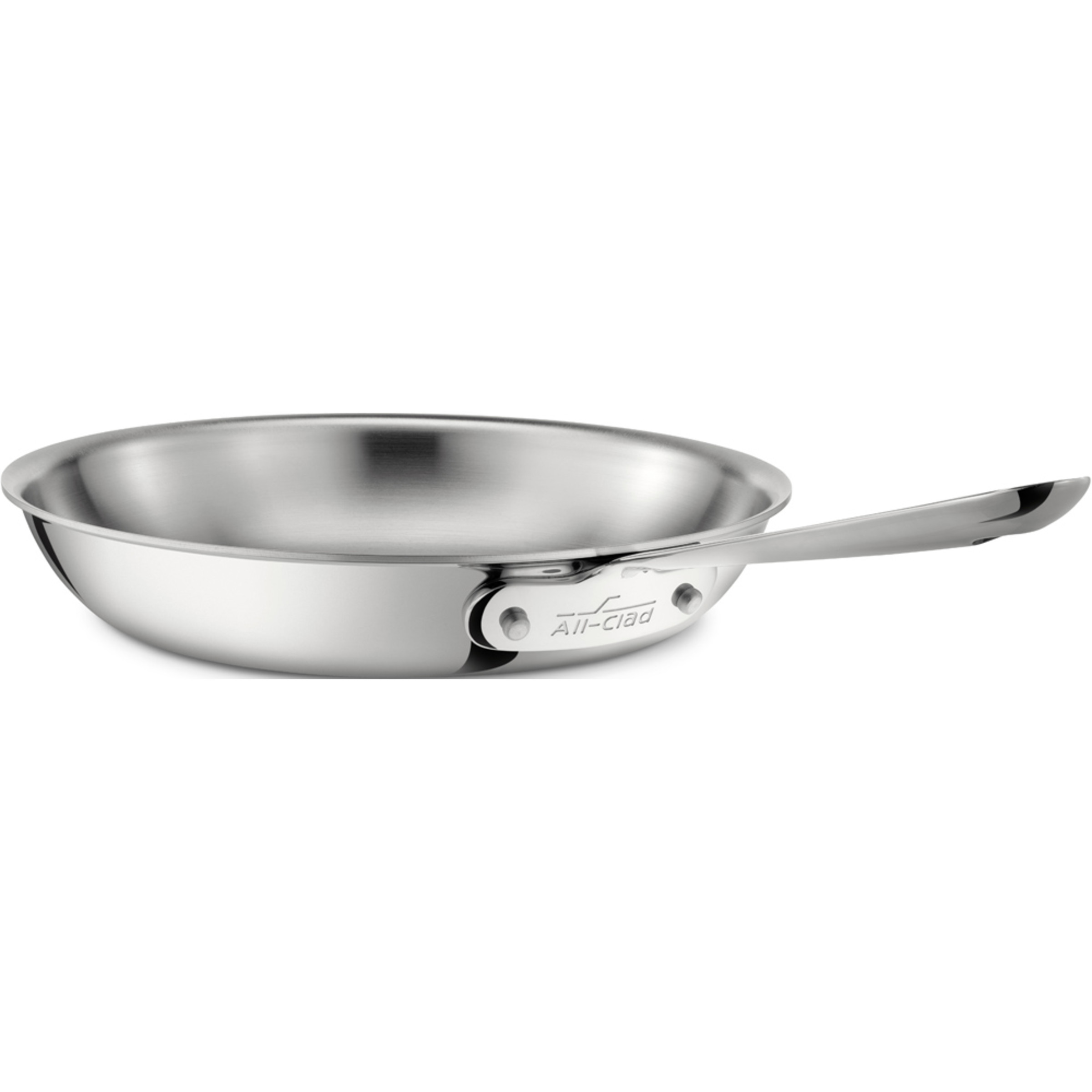 All Clad d3 Armor Stainless Steel 8 Inch Fry Pan