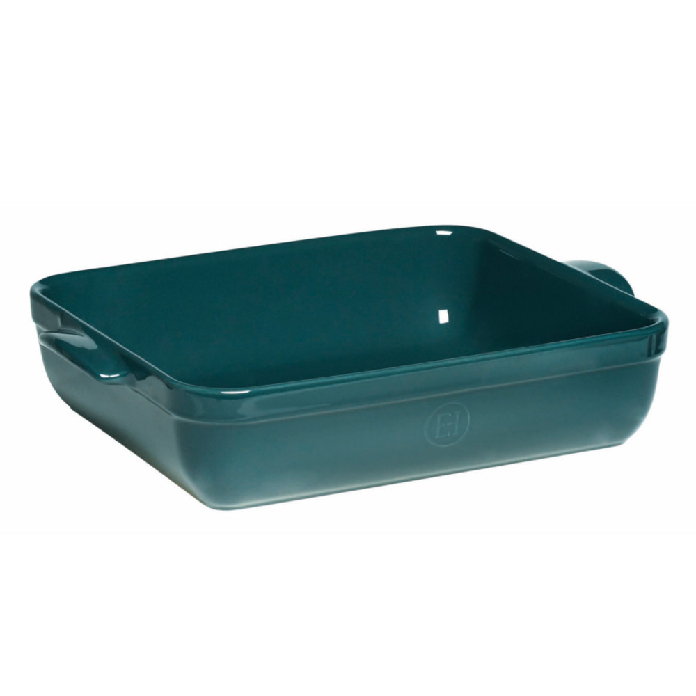 Emile Henry Blue Flame Ceramic Lasagna Roasting Dish