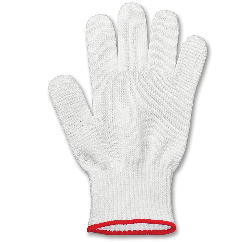 Victorinox Performance Shield II White and Red Small Cut Resistant Glove
